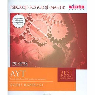 AYT Piskoloji-Sosyoloji-Mantık Soru Bankası Kültür Yayıncılık