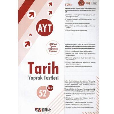 AYT Tarih Çek Kopart Yaprak Test Nitelik Yayınları