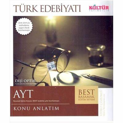 AYT Türk Edebiyatı BEST Konu Anlatım Kültür Yayıncılık
