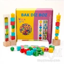 Yuka Kids - Bak - Diz - Boz (4-6 Yaş)
