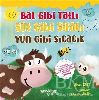 Bal Gibi Tatlı Süt Gibi Şifalı Yün Gibi Sıcacık 3'lü Set