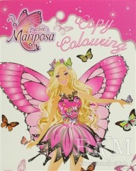 Euro Books - Barbie Mariposa: Copy Colouring