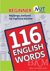 Nut Publishing - Beginner 116 English Words Kartları