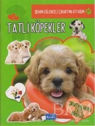 Parıltı Yayınları Boyama ve Çıkartma Kitapları - Tatlı Köpekler - Benim Eğlenceli Çıkartma Kitabım
