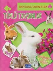 Parıltı Yayınları Boyama ve Çıkartma Kitapları - Tüylü Tavşanlar - Benim Eğlenceli Çıkartma Kitabım