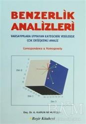Beşir Kitabevi - Akademik Kitaplar - Benzerlik Analizleri
