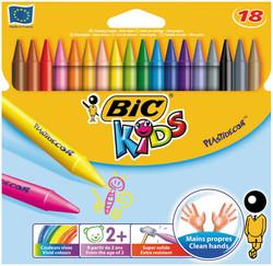 Bic - Bic Silinebilir Pastel 18'Li Kutu - 829771