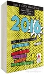 Delta Kültür Basım Yayın - Bilgi-Kültür Takvimi 2016