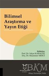 Akademisyen Kitabevi - Bilimsel Araştırma ve Yayın Etiği