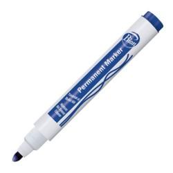 Bion - Bion Permanent Marker Kesik Uç Mavi