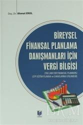 Adalet Yayınevi - Bireysel Finansal Planlama Danışmanları İçin Vergi Bilgisi