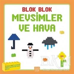 1001 Çiçek Kitaplar - Blok Blok Mevsimler ve Hava