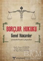 Umuttepe Yayınları - Borçlar Hukuku - Genel Hükümler
