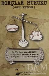 Kaf Kitap Kafe Yayınları - Akademik Kitaplar - Borçlar Hukuku Genel Hükümler
