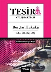 Temsil Kitap - Borçlar Hukuku - Tesir Çalışma Kitabı