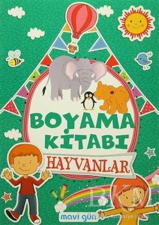Boyama Kitabı Hayvanlar Bkm Kitap