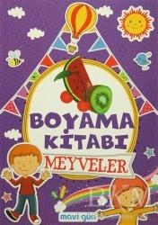 Mavi Lale Yayınları - Boyama Kitabı Meyveler