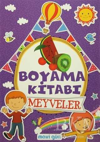 Boyama Kitabı Meyveler