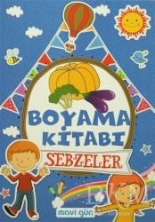 Mavi Lale Yayınları - Boyama Kitabı Sebzeler