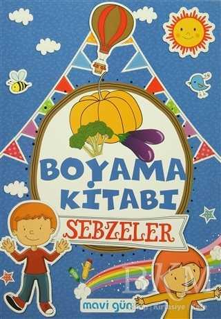 Boyama Kitabı Sebzeler