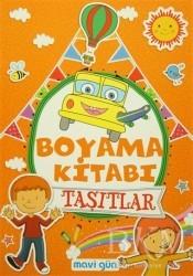 Mavi Lale Yayınları - Boyama Kitabı Taşıtlar