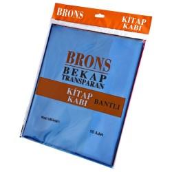 Brons - Brons Hazır Kitap Kabı Renkli 10lu