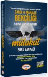 Yediiklim Yayınları - Çarşı ve Mahalle Bekçiliği Sınavlarına Hazırlık Mülakat Soru Bankası Yediiklim Yayınları