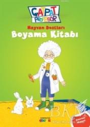 Semerkand Çocuk Yayınları - Hayvan Dostları Boyama Kitabı - Çatpat Profesör