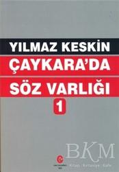 Can Yayınları (Ali Adil Atalay) - Çaykara'da Söz Varlığı 1