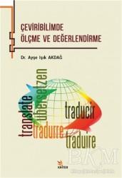 Kriter Yayınları - Çeviribilimde Ölçme ve Değerlendirme