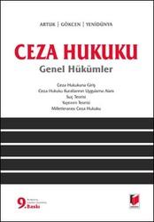 Adalet Yayınevi - Ders Kitapları - Ceza Hukuku Genel Hükümler
