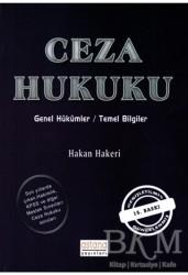 Astana Yayınları - Ceza Hukuku Genel Hükümler / Temel Bilgiler