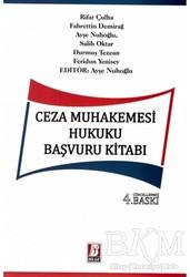 Bilge Yayınevi - Ceza Muhakemesi Hukuku Başvuru Kitabı