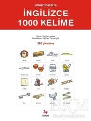 Almidilli - Çıkartmalarla İngilizce 1000 Kelime (500 Çıkartma)