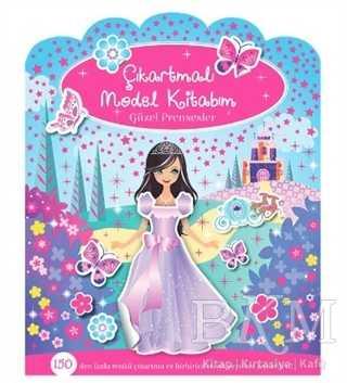 Çıkartmalı Model Kitabım - Güzel Prensesler