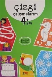 Minik Ada - Eğitim Kitapları - Çizgi Çalışmalarım 4+ Yaş