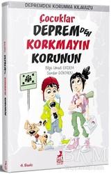 Ren Kitap - Çocuklar Depremden Korkmayın Korunun - Depremden Korunma Kılavuzu