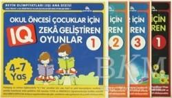 Ekinoks Yayın Grubu - Çocuklar için Zeka Geliştiren Oyunlar (4 Kitap Takım)