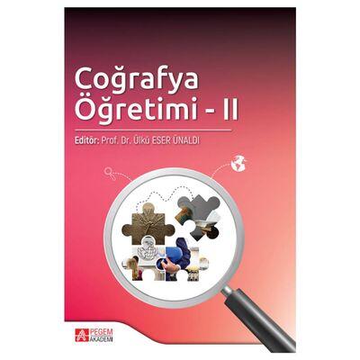 Coğrafya Öğretimi II Pegem Yayınları