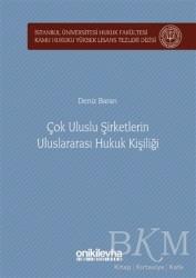 On İki Levha Yayınları - Çok Uluslu Şirketlerin Uluslararası Hukuk Kişiliği