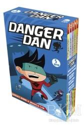 Mavi Kirpi Yayınları - Danger Dan Seti (5 Kitap Takım)