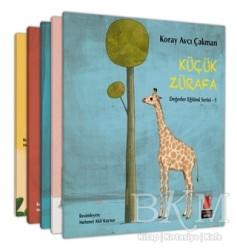 Kırmızı Kedi Çocuk - Değerler Eğitimi (5 Kitap Takım)