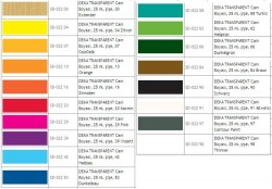 Deka - Deka Transparent Cam Boyası 125ml Konturenfarbe 97