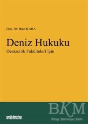On İki Levha Yayınları - Ders Kitapları - Deniz Hukuku - Denizcilik Fakülteleri İçin