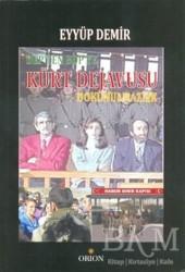 Orion Kitabevi - DEP'ten BDP'ye Kürt Dejavusu Dokunulmazlık