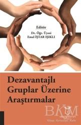 Akademisyen Kitabevi - Dezavantajlı Gruplar Üzerine Araştırmalar