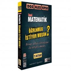 Tasarı Yayıncılık - DGS ALES KPSS Temel Matematik Öğrenmek İstiyor Musun 2. Kitap Tasarı Yayıncılık