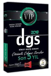 Yargı Yayınları - DGS VIP SAYISAL SÖZEL SON 5 YIL ÇIKMIŞ 2018