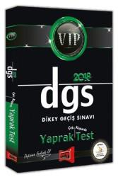 Yargı Yayınları - DGS VİP YAPRAK TEST 2018