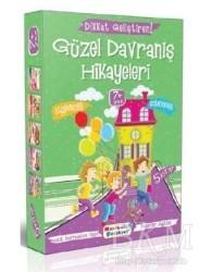 Mavi Lale Yayınları - Dikkat Geliştiren Güzel Davranış Hikayeleri (5 Kitap Takım)